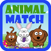 Preschool Animal Match Free