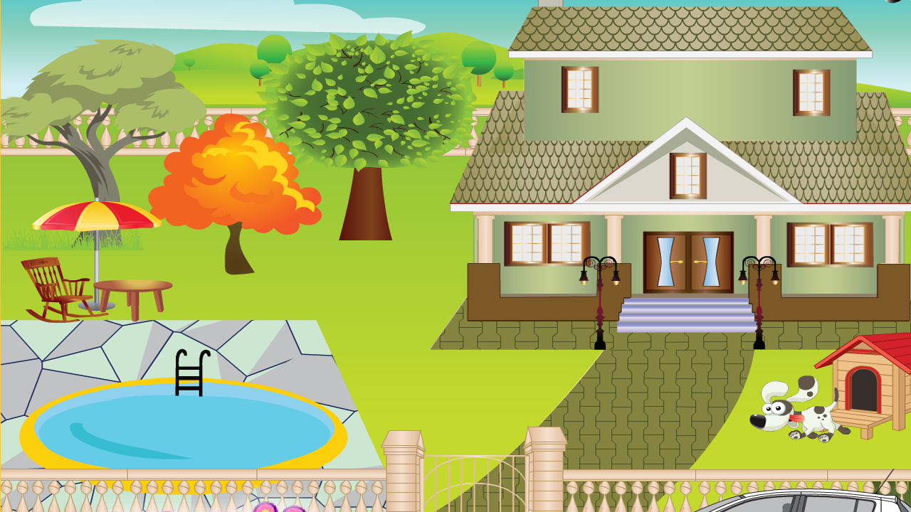 Awesome villa decoration game android apps on google play Create a house game