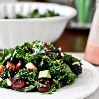Triple Berry Kale Salad.