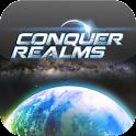 Conquer Realms logo