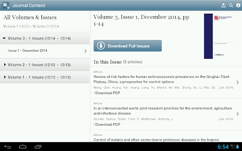 Infectious Diseases of Poverty - screenshot thumbnail