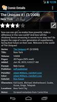Screenshot of ComicRack Free