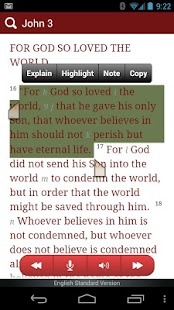 eBible - Bible with Q/A - screenshot thumbnail