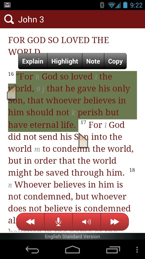 Bible from eBible - screenshot