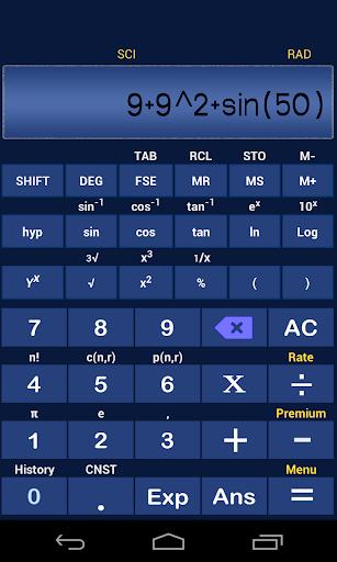 Scientific Calculator Plus2
