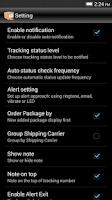 Screenshot of Package Tracker Pro