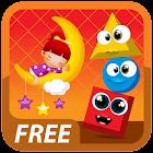 儿童蒙特梭利形状免费 icon