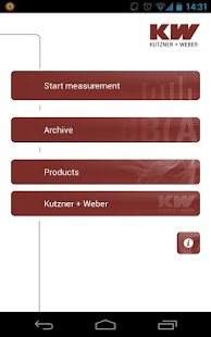 KW Schallmessapp- screenshot thumbnail