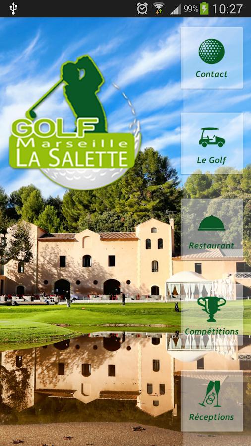 Golf marseille salette android apps on google play - Club house vieux port marseille ...
