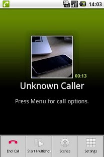 CallCam Lite - screenshot thumbnail