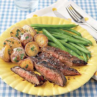 Balsamic-Marinated Flank Steak.