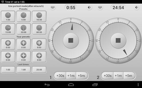 Küchenuhr - Kitchen Timer Screenshot
