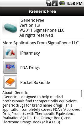 iGeneric Free - screenshot