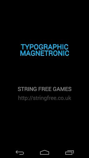 Magnetronic Typographic