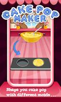 Screenshot of Cake Pop Maker - Cooking Fun