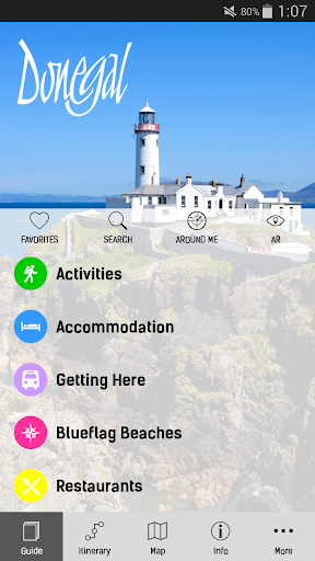 County Donegal Tourism App