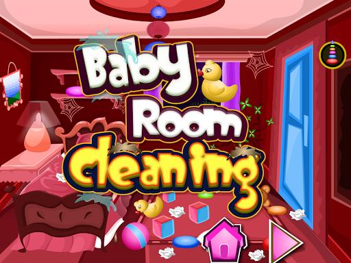 婴儿室清洗游戏