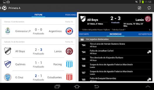 Liga Argentina de Fútbol Screenshot 17