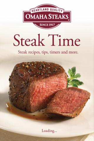 Omaha Steaks Steak Time - screenshot
