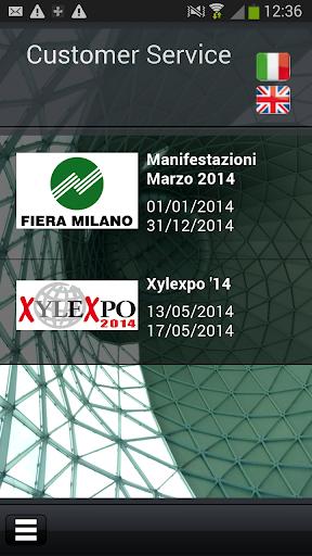 Customer Service Fiera Milano