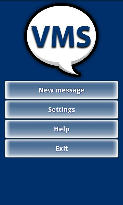 VMS - Voice Messaging System - screenshot