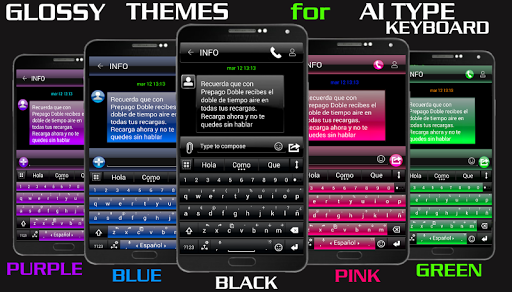THEME FOR AI TYPE BLACK GREEN