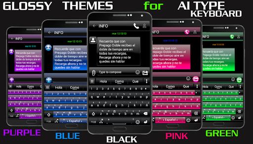 THEME FOR AI TYPE BLACK GREEN