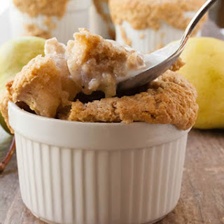 Whole Wheat Pear Cobbler