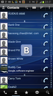 RocketDial Dialer & Contacts - screenshot thumbnail