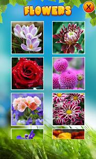 花拼圖 - Flower Puzzles
