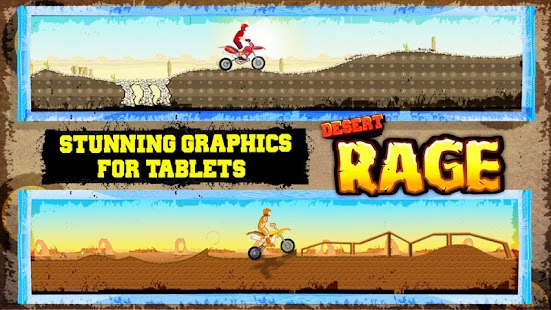 Desert Rage - Bike Racing Game- screenshot thumbnail