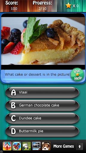 Desserts and Cakes Quiz HD