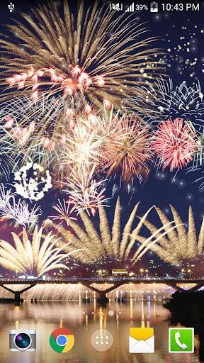 2019 Fireworks Live Wallpaper PRO 1.0.5 screenshots 1