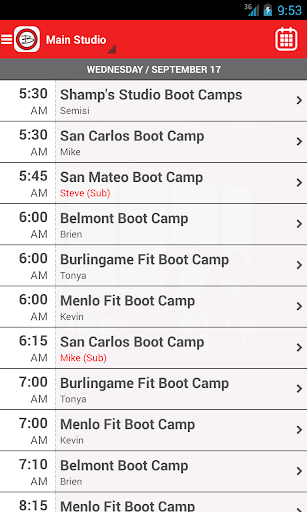 Brien Shamp's Boot Camps