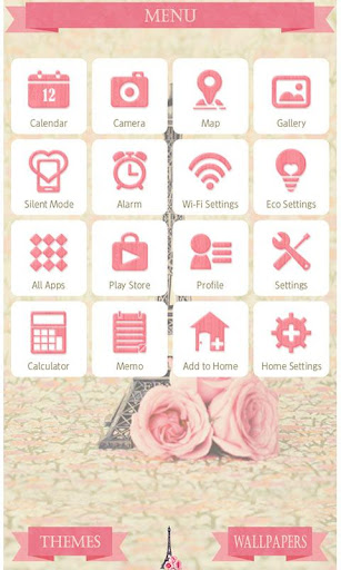 Paris Theme -French Roses- 1.0.1 Windows u7528 3