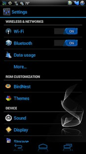 EpicBlue CM9/10 Theme DONATE - screenshot thumbnail