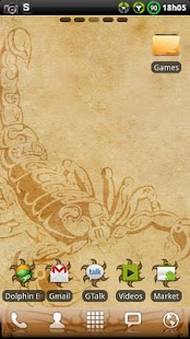 Scorpion GO Launcher Theme- screenshot thumbnail