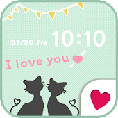Cute wallpaper★Love Cat