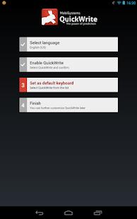 QuickWrite Keyboard Key|玩商業App免費|玩APPs