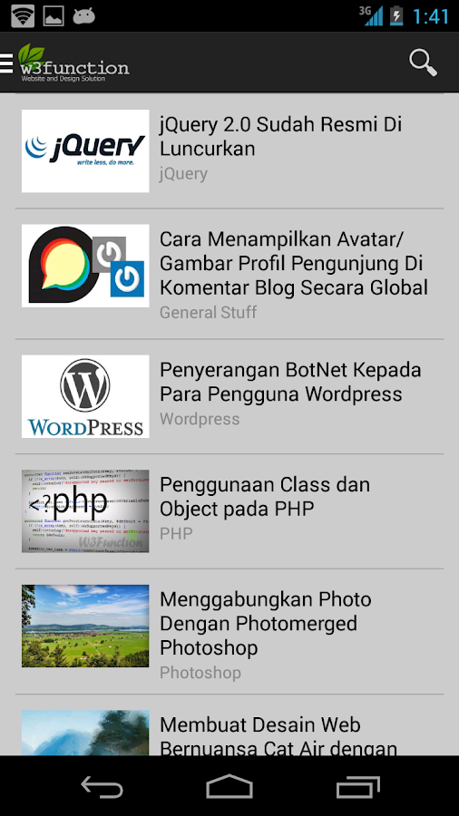 Belajar Membuat Website- screenshot