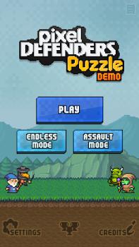 Pixel Defenders Puzzle DEMO