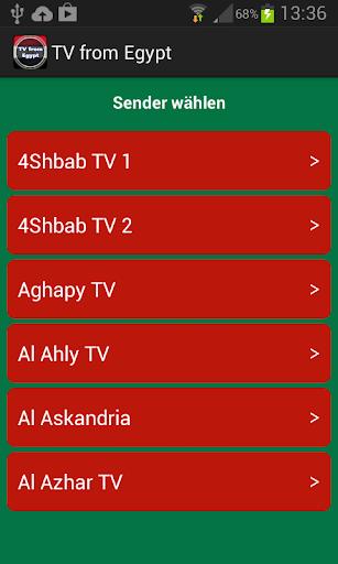 エジプトからのテレビ