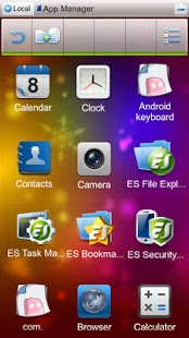 ES File Explorer (1.5 Cupcake) - screenshot thumbnail