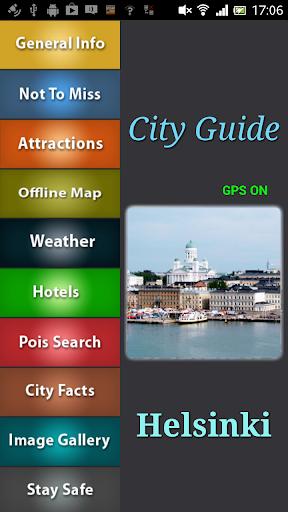 Helsinki Offline Guide