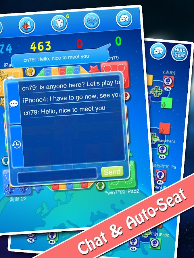 Ludo - Online Game Hall- screenshot