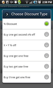 Smart Discount Calculator screenshot 2