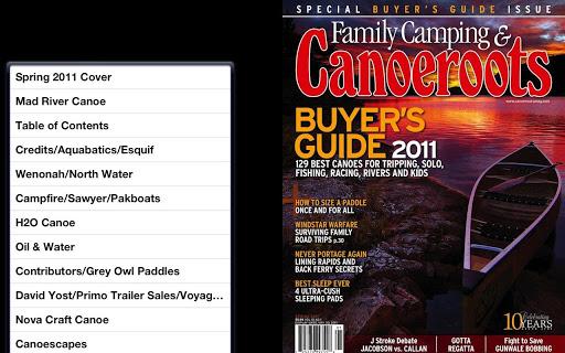 Canoeroots Magazine