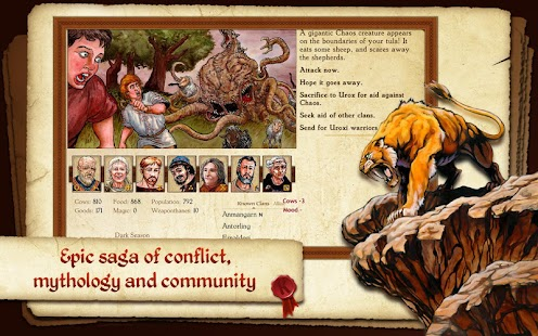 King of Dragon Pass: Text Adventure RPG Screenshot