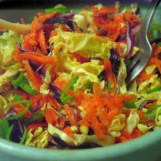 Orange Wasabi Cabbage Salad-