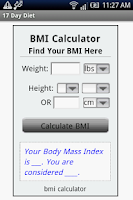 Screenshot of 17 Day Diet